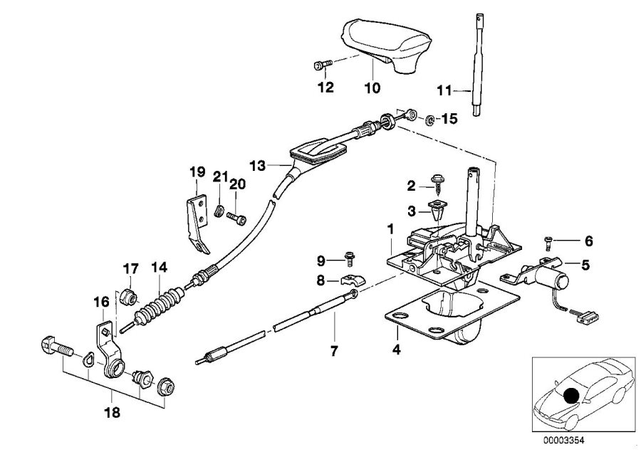 2000 Bmw 323i Manual Transmission Part Diagram
