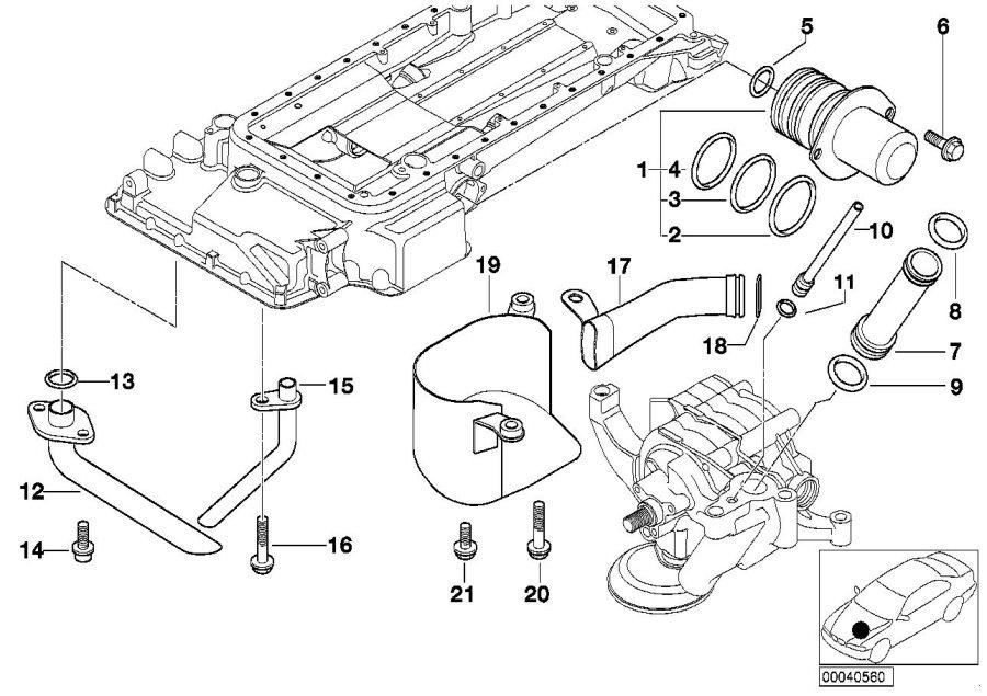 2006 bmw 750i engine diagram