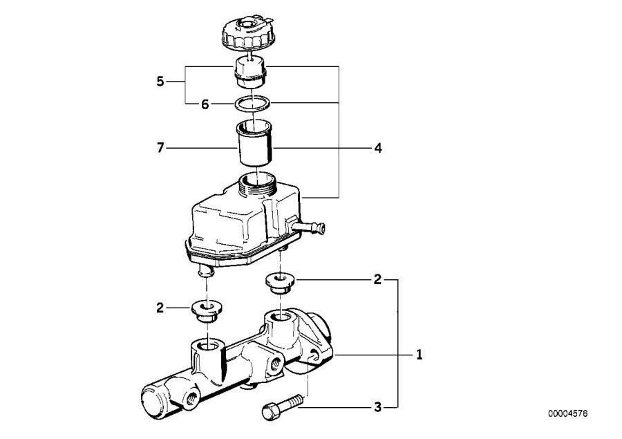 BMW 840Ci Expansion tank. Ate. Brake, cylinder, master