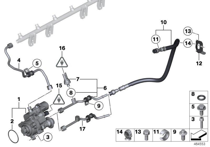 BMW X6 Sensor, low pressure. ALPINA, Fuel, Coupé