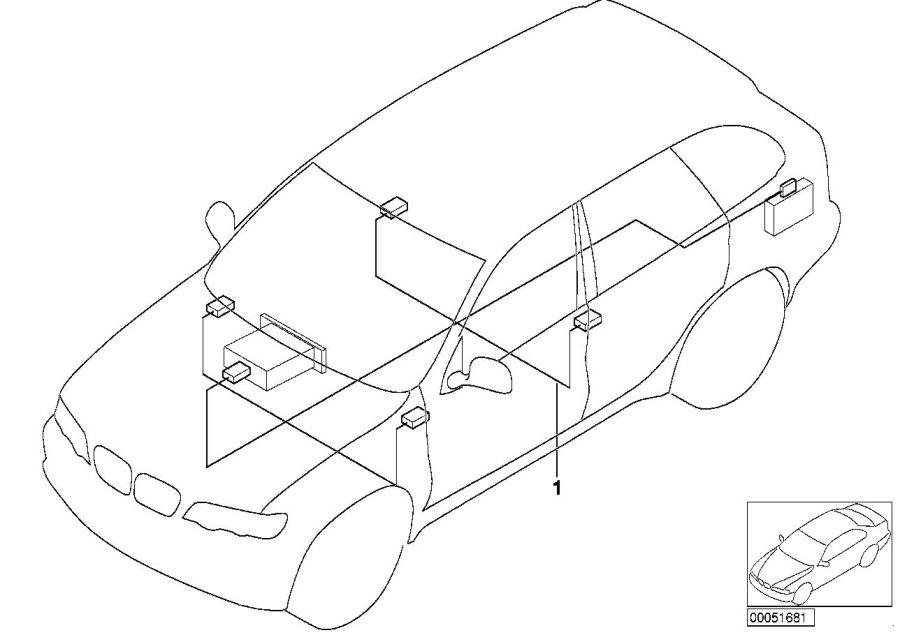 Bmw E53 Navigation Wiring Diagram