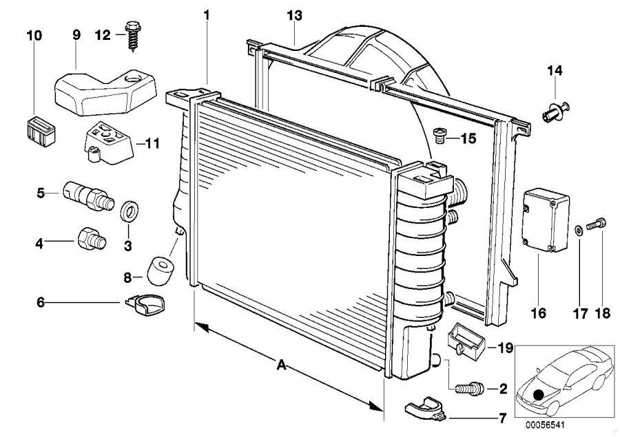 BMW 840i Sensor f. Auc. Conditioning, air, drying