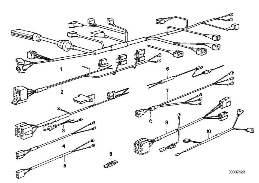 bmw 735i wiring diagram