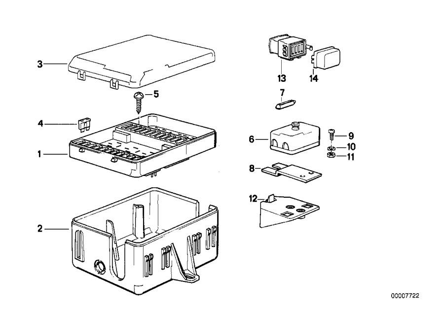 2010 bmw m3 fuse box