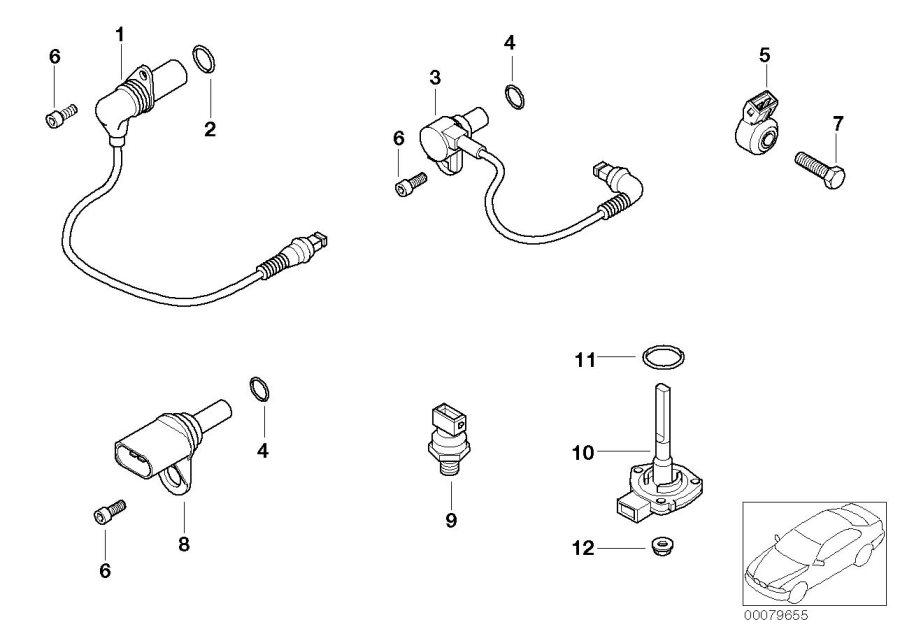 BMW M3 Camshaft sensor. Cylinder, Head, System