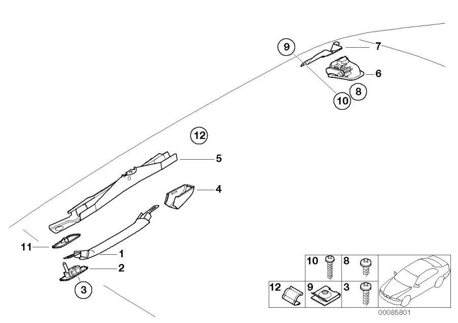 BMW 323Ci Frame. HELLBEIGE 2. Equipment, Body, Interior