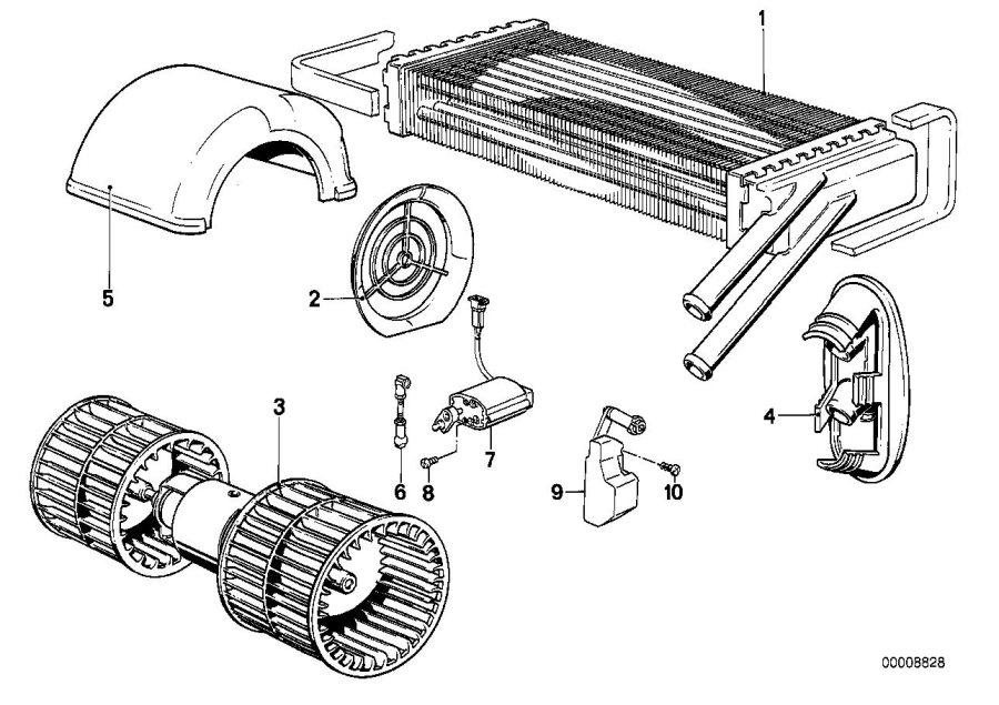 Air Conditioning Wiring Diagram Of 1980 1983 Bmw 320i