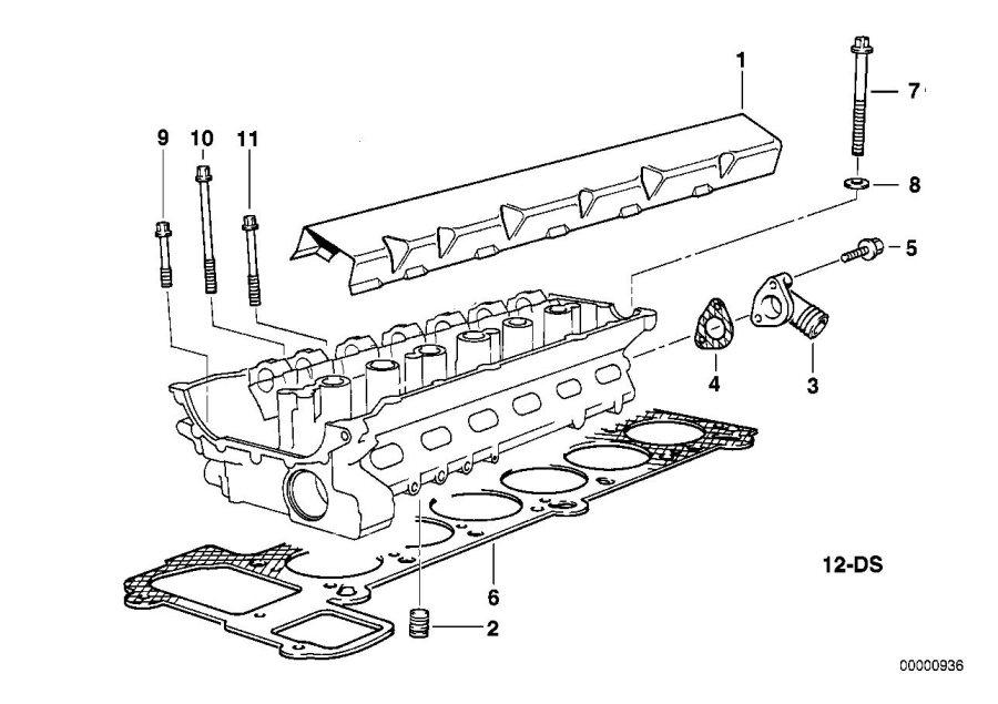 BMW M3 Gasket Set Cylinder Head Asbestos Free. Engine