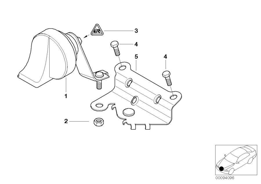 2004 BMW M3 Rep. Kit for socket housing. Temperature, Ihka