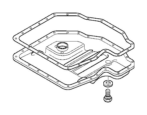 BMW 740iLP Screw plug. M12X1, 5. Oil, Level, Indicator