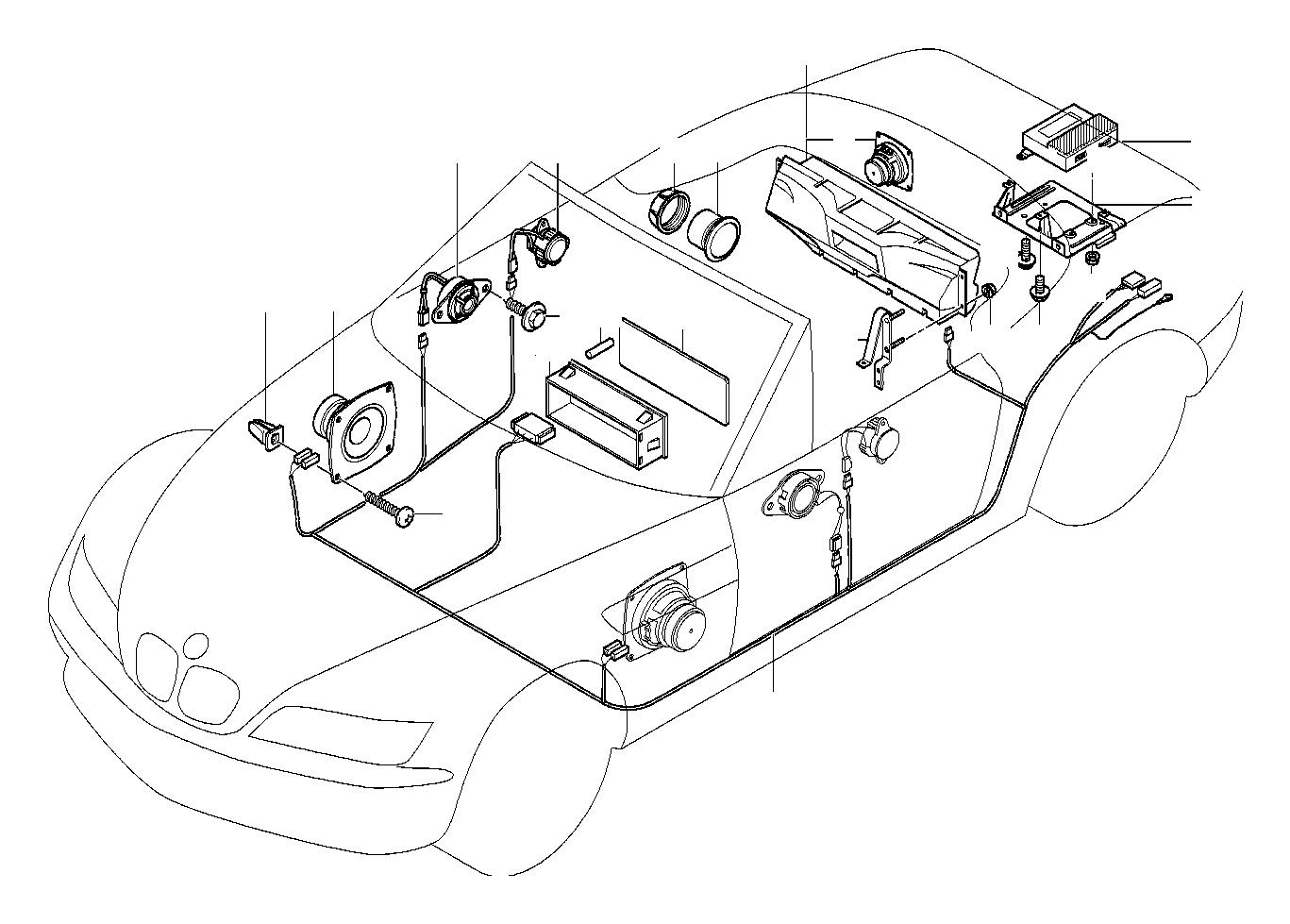 Bmw 325i Frame System Single Hifi