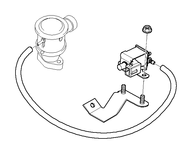 BMW M5 3.6 Electric valve. Vacuum, Control, Intake