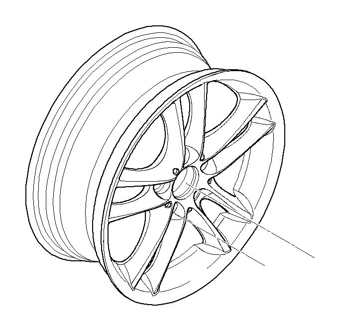 BMW 128i Light alloy rim, black. 8 1/2JX18 ET:52. Wheels
