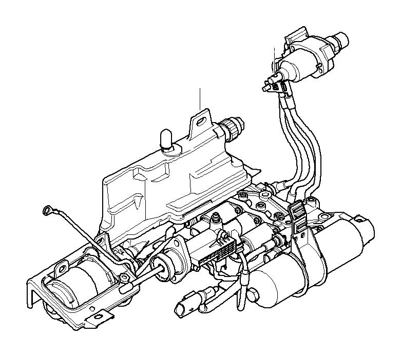 2003 BMW Z4 Hydraulic unit. Transmission, SMG, Individual
