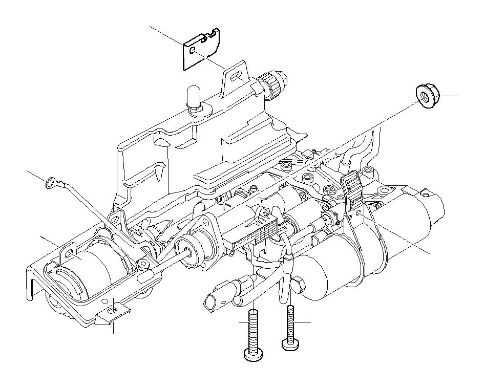 BMW 325Ci Clip retainer. Hydraulic, Transmission, SMG