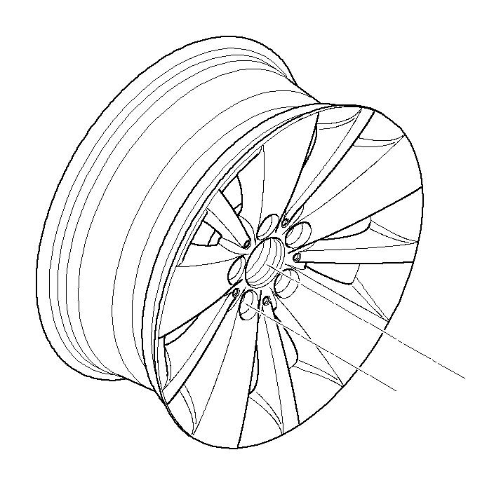 BMW 745Li Light alloy rim. 8JX18 ET:24. Wheels, Wheel