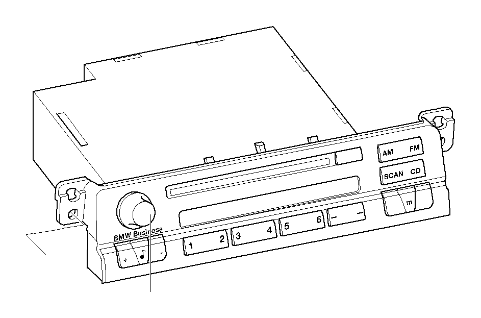 BMW 330Ci Exch. Radio BMW business CD. System, Multi