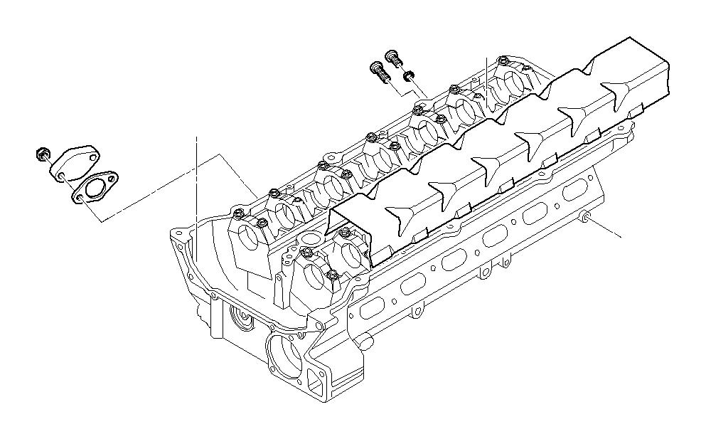 BMW 325xi Gasket Steel. Cylinder, Control, Engine
