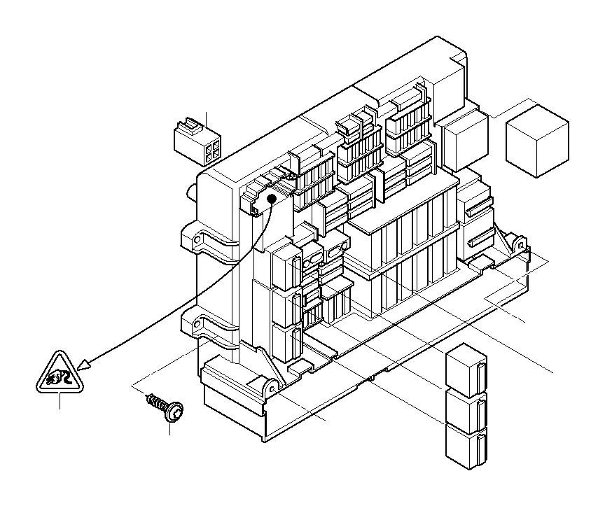 BMW 323i Universal socket housing, hybrid. 6+4 POL. Single