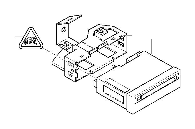 BMW 330xi Exch. Navigation computer III. SYSTEM, Module