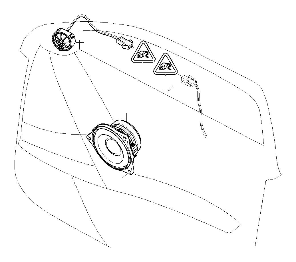 BMW 335i Repair kit, socket housing. 2 POL. Stereo, Number