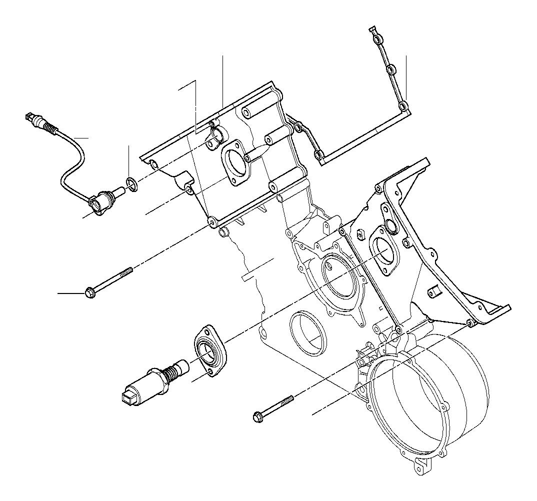 Bmw 840ci Hex Bolt With Washer M6x65 Z1 Engine Control