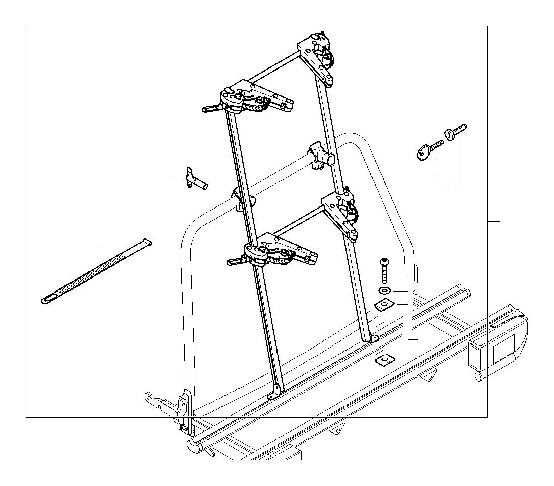 Bmw 740ix Lock Cylinder With Key Rack Ece Snowboard