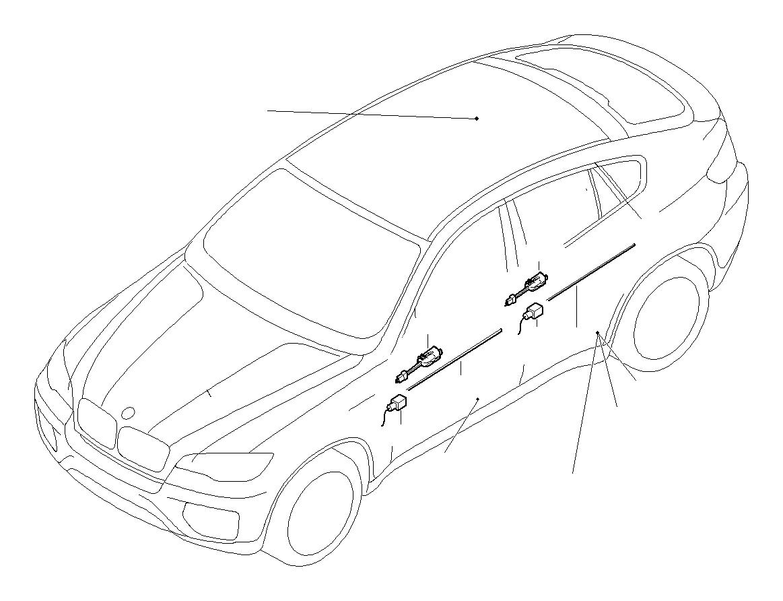 BMW 528i Interior light. 5W TRÜB. Door, Trim, Panel