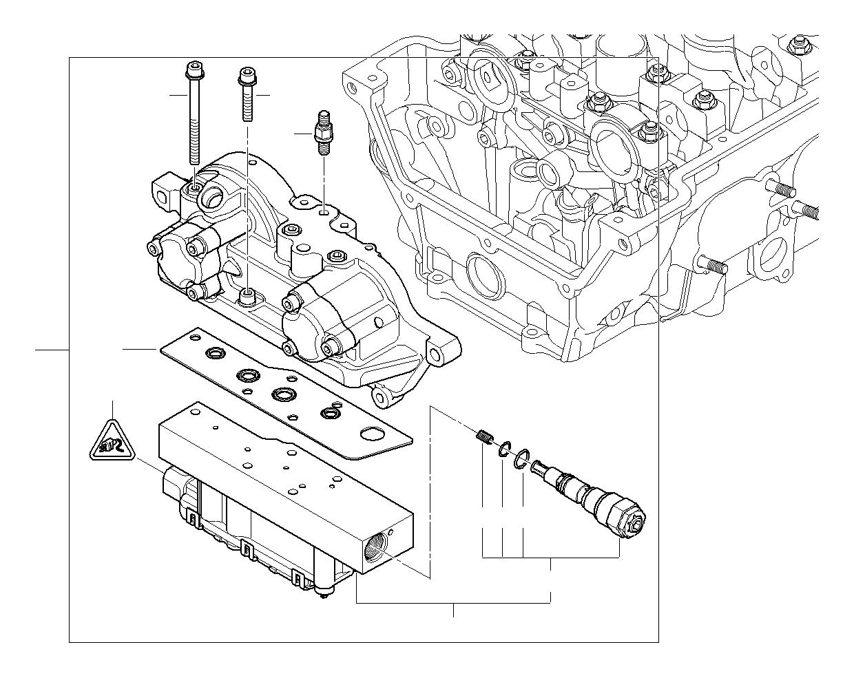 Bmw M3 Solenoid Valve Solv Head Cylinder Vanos