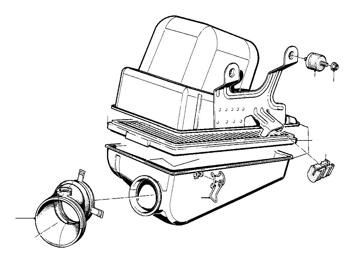 Bmw 318i Intake Muffler Silencer System Fuel