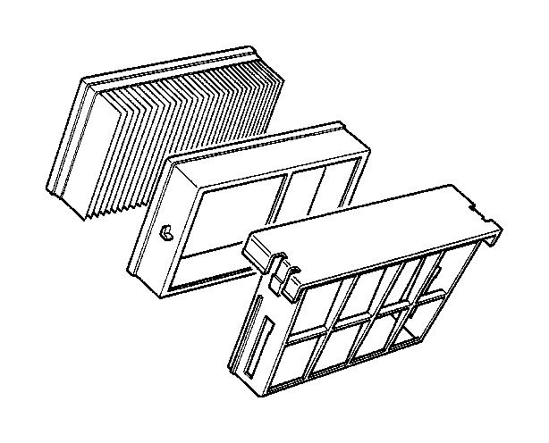 BMW M3 Intake silencer. Fuel, Filter, Cartridge