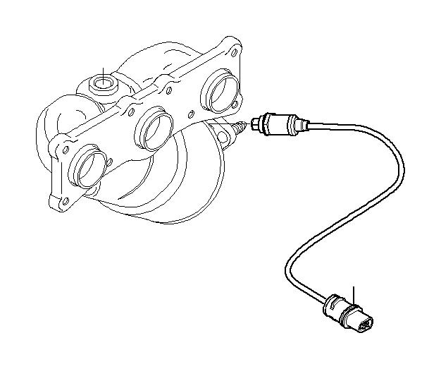 BMW X3 Lambda Monitor sensor. L= 560MM. Coupé, Sensors