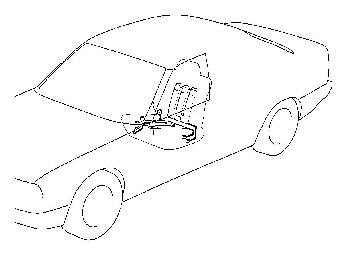 Bmw 530i Heating Element Backrest 120 W Seat Interior