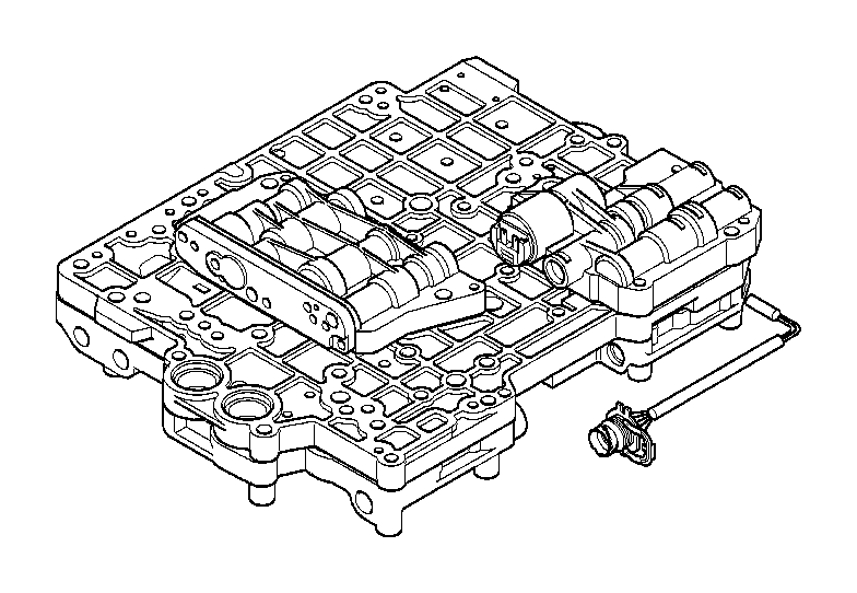 BMW 330i At-control unit set. Transmission, individual