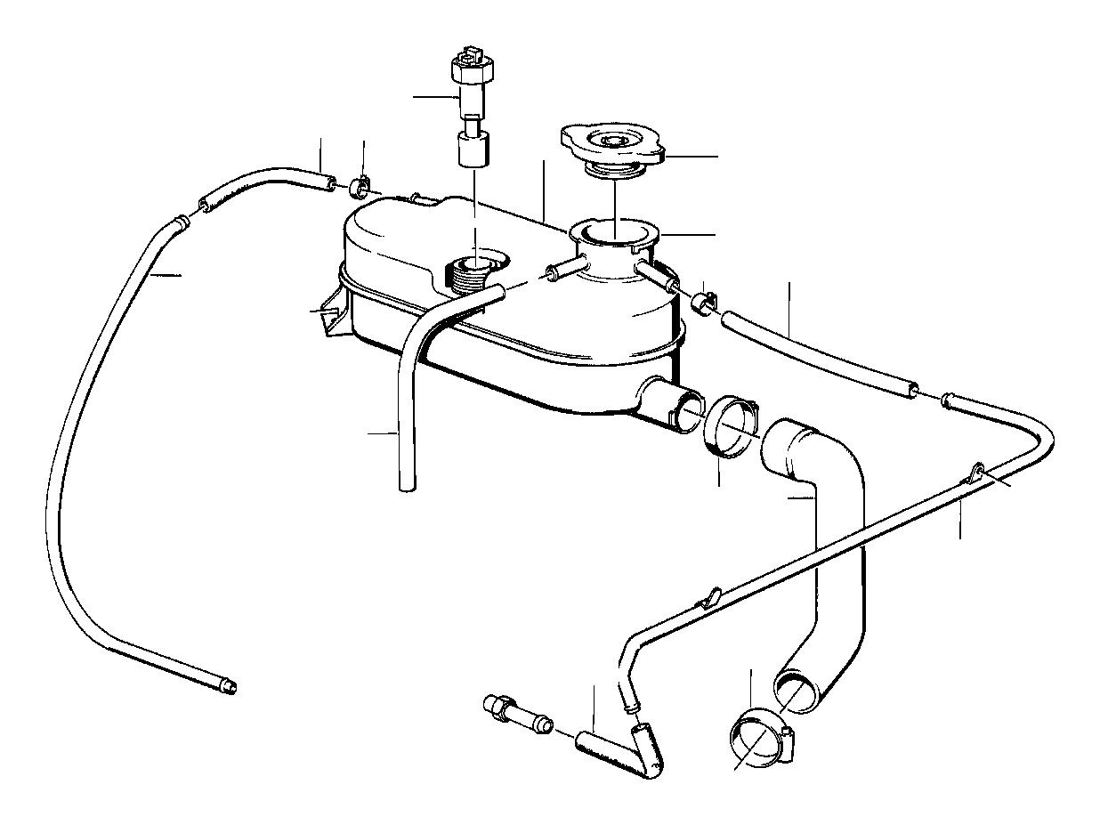 BMW M5 Radiator cap. 1, 4BAR. Engine, Cooling