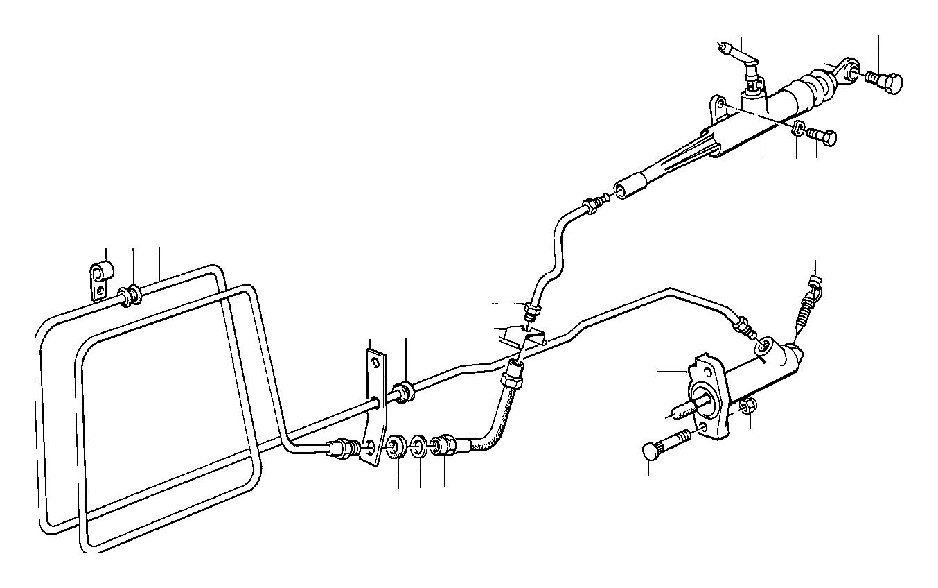 BMW M3 Clutch Pressure Hose. L=275MM. Control