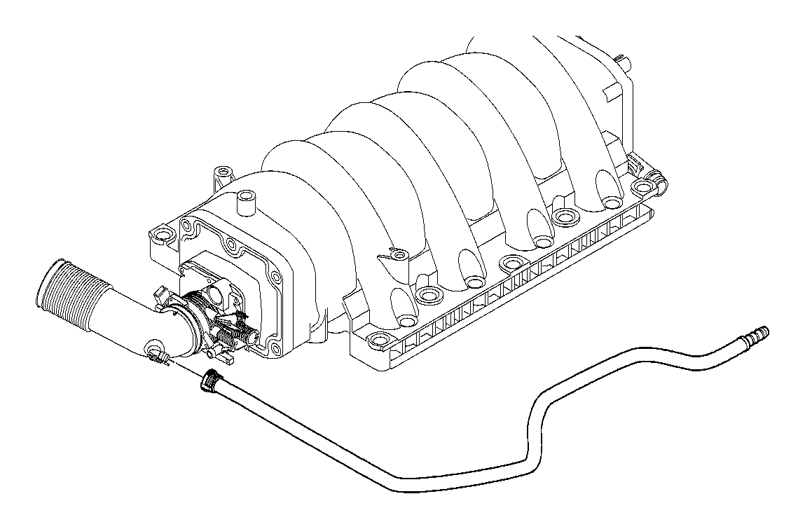 2001 BMW 540i Sucking jet pump. Vacuum, engine, control