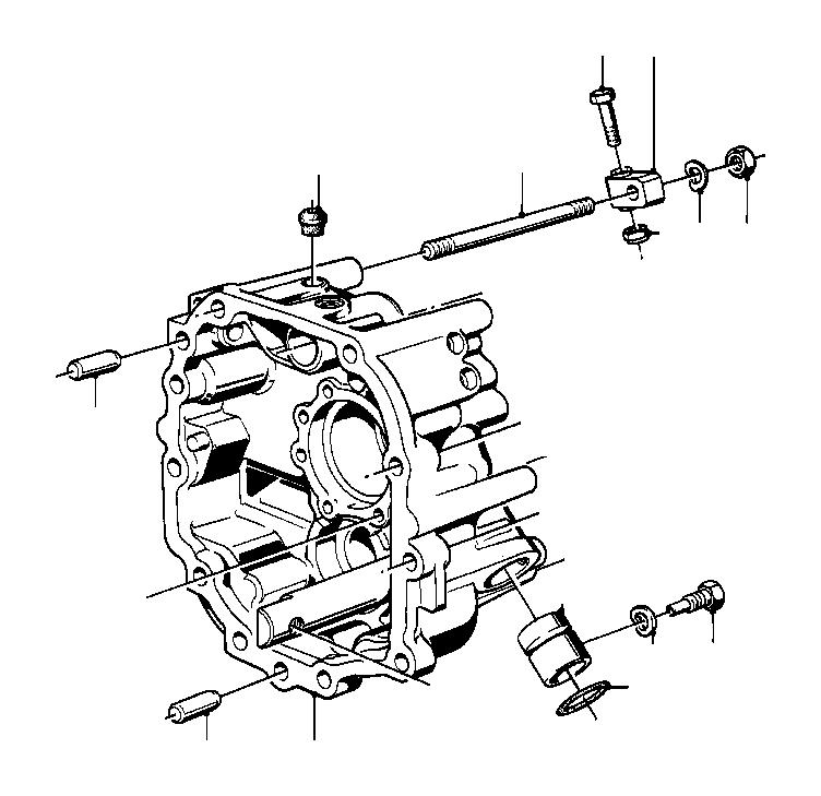 BMW 530i Ventilation valve. Getrag, Transmission