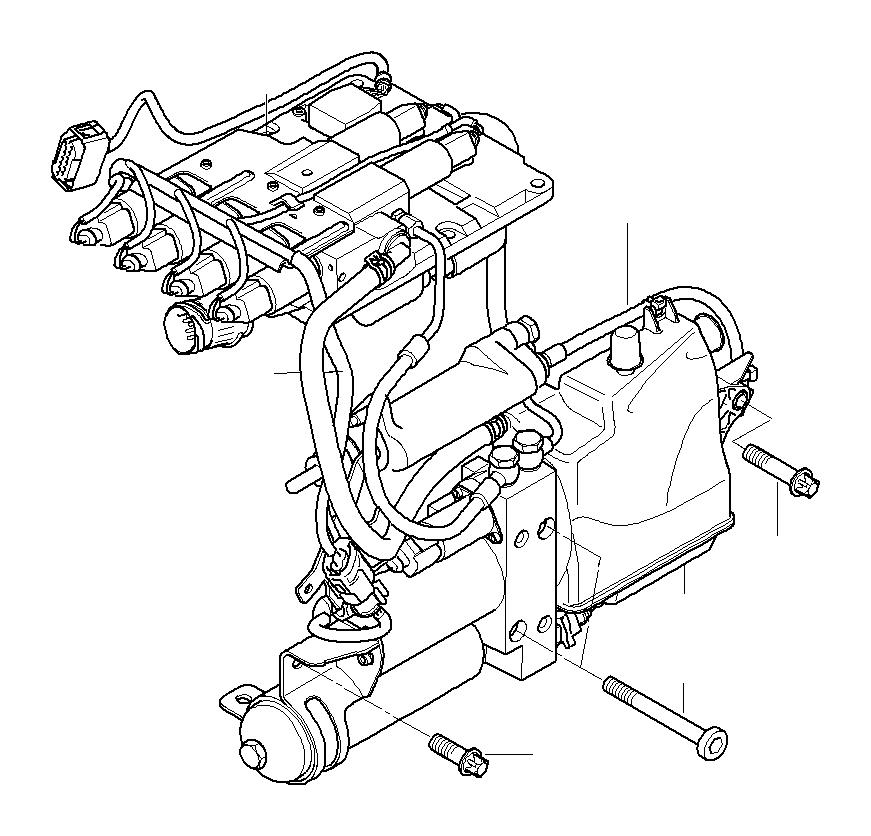 BMW M5 Hydraulic unit. Transmission, Individual