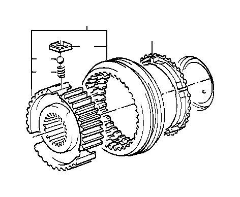 BMW 325ix Synchronizer ring. Wheel, transmission, sing