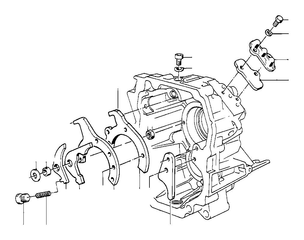 BMW M5 3.6 Compression spring. Getrag, Gear, Inner