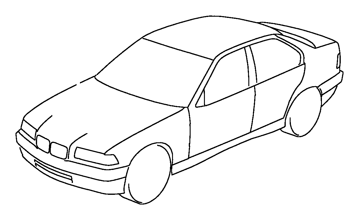 BMW M3 Wiring adapter backup light switch. Harness, Engine