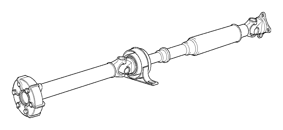BMW Z3 Manual drive shaft gearbox. L=1294MM. Transmission