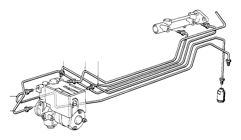 BMW 535i Pipe. M10/M10-2109MM. Zyl, Bavaria, Brake