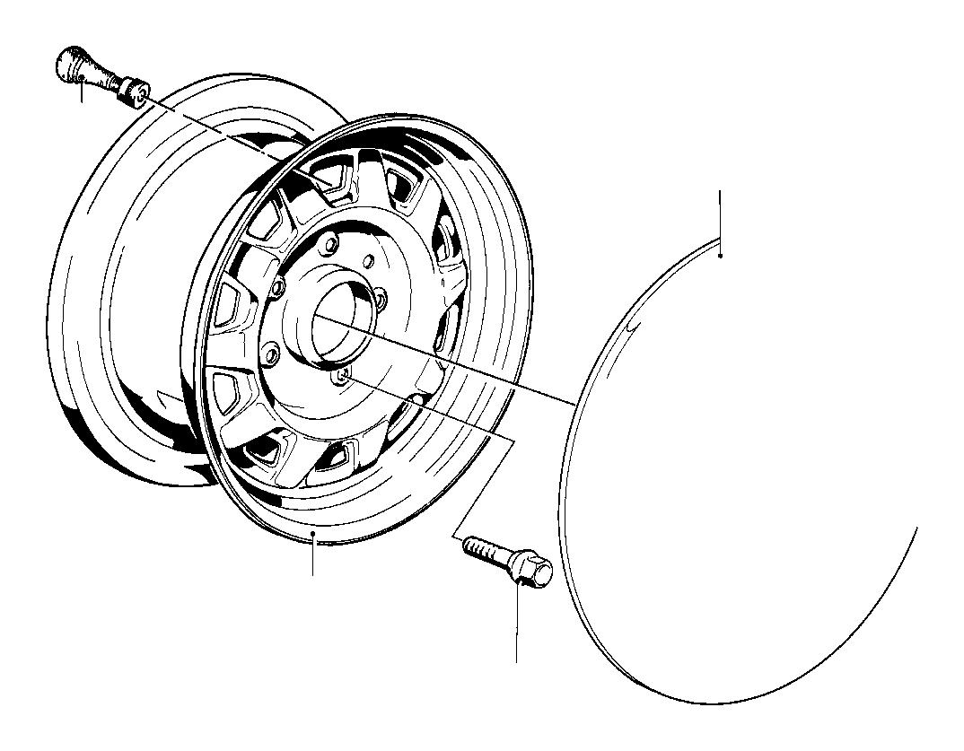 Bmw 325i Trim Ring Steel Wheels Tires Styl