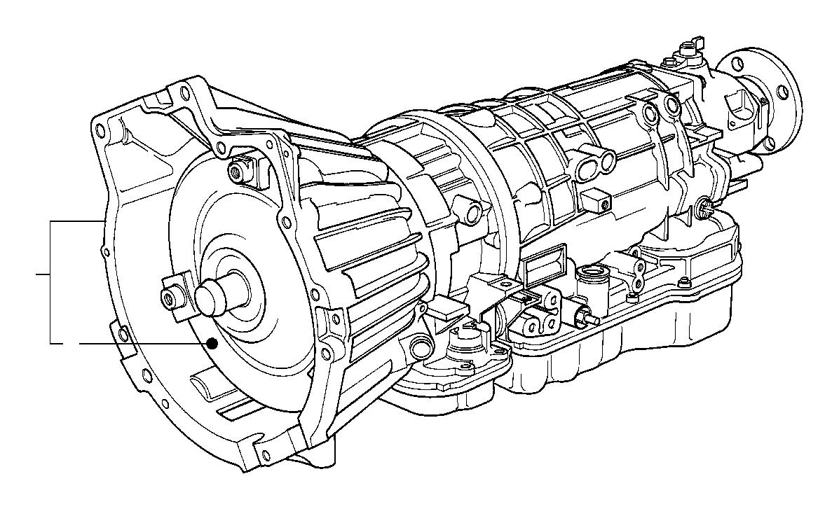 BMW 318i Torque converter. A4S 310R. Transmission