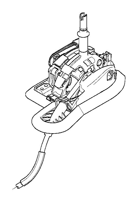 BMW 540i Gearshift Steptronic. Transmission, TRANSMISS