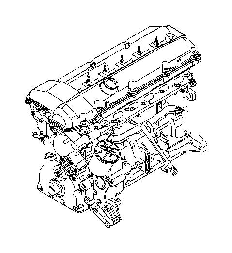 2002 BMW 530i Water hose. Hoses, engine, cooling