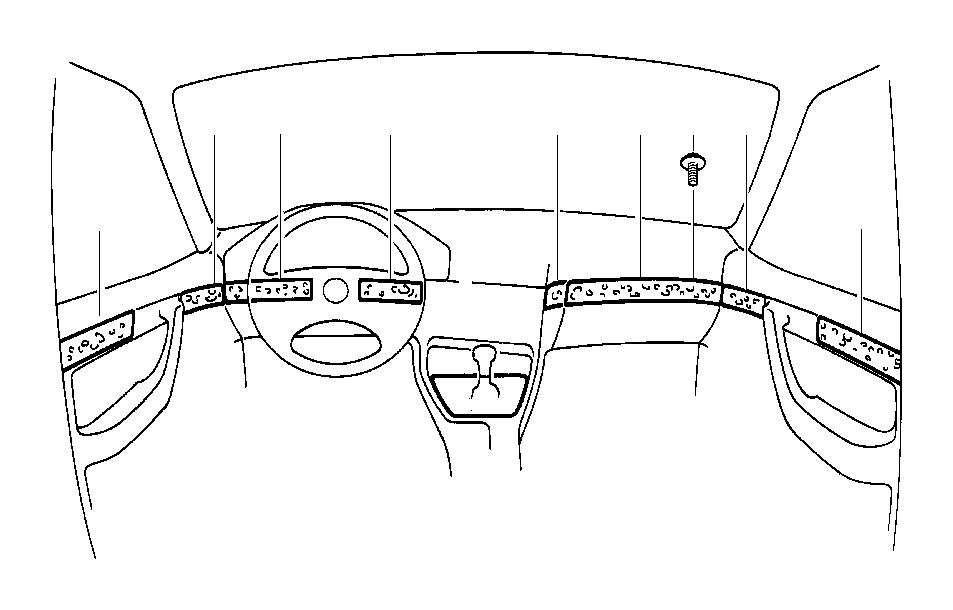 BMW M5 3.6 Rear left vogelaugenahorn wooden strip. Grau