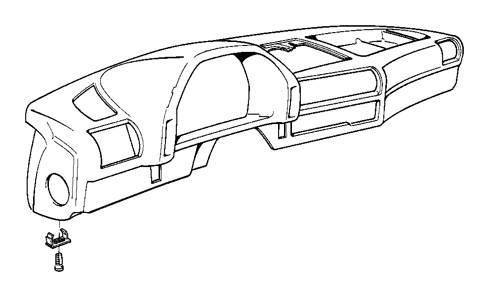 BMW 735iL Push-button. SCHWARZ. Trim, Body, Equipment